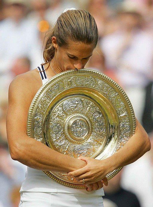 Amélie Mauresmo campeona de Wimbledon 2006