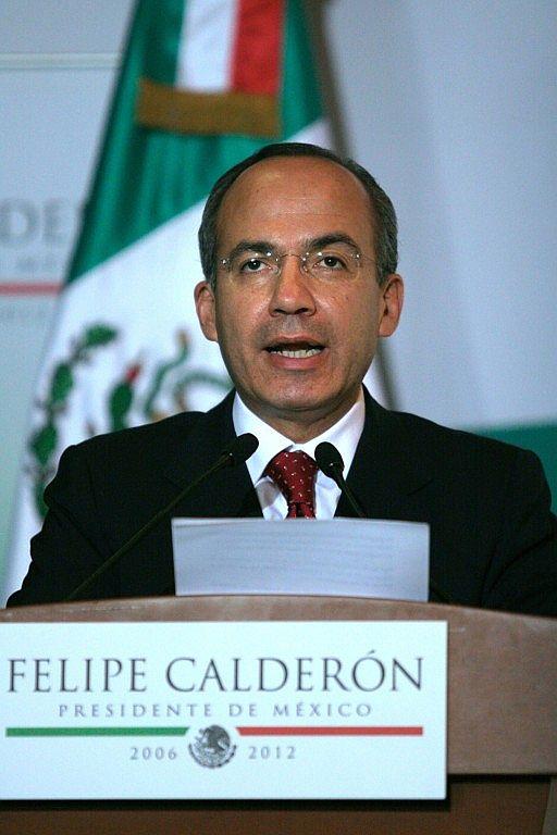 Felipe Calderón, presidente
