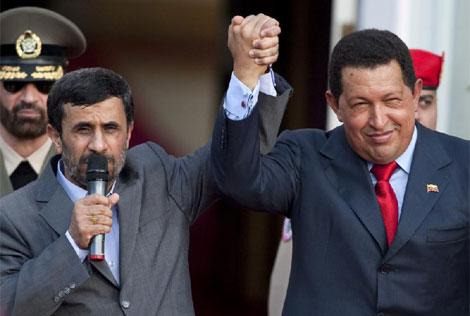 Chávez y Ahmadineyad reunidos en Caracas. | Reuters