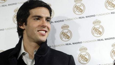 Kaká durante un acto de la Fundación del Real Madrid. Reuters