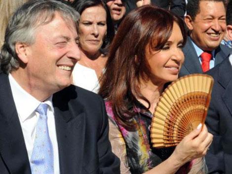 El matrimonio Kirchner. | ELMUNDO.es