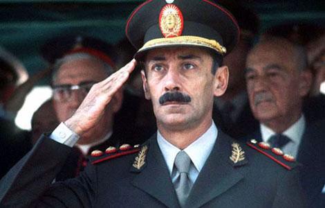 Ex dictador Rafael Videla, durante la dictadura militar de 1976. | ELMUNDO.es
