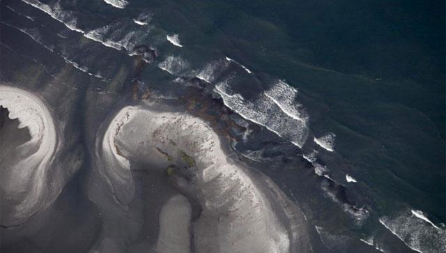 La marea negra llega a las costas de Luisiana