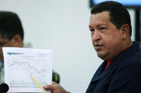 El presidente de Venezuela, Hugo Chávez. | AFP