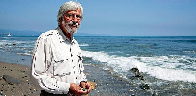 Jean-Michel Cousteau, hijo del mítico explorador submarino. | I.H.