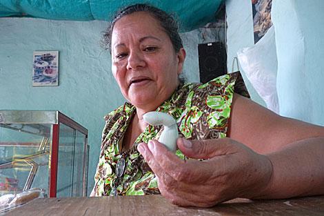 Margarita y sus huevos defectuosos que la han hecho famosa. 1288043262_0