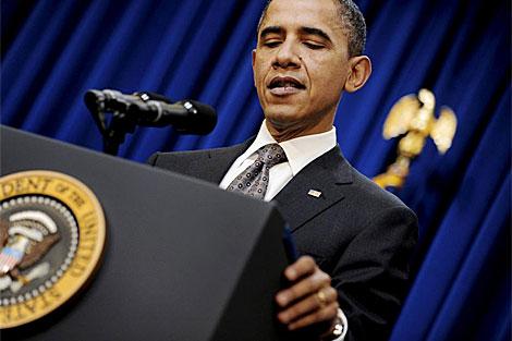Barack Obama en rueda de prensa el 30 de noviembre. | Efe