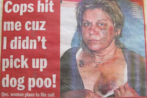 Imagen de la noticia publicada en el 'Daily News'. | C.F.