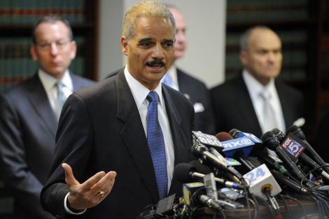 El fiscal general Eric Holder informa sobre las detenciones de la Cosa Nostra. I AFP