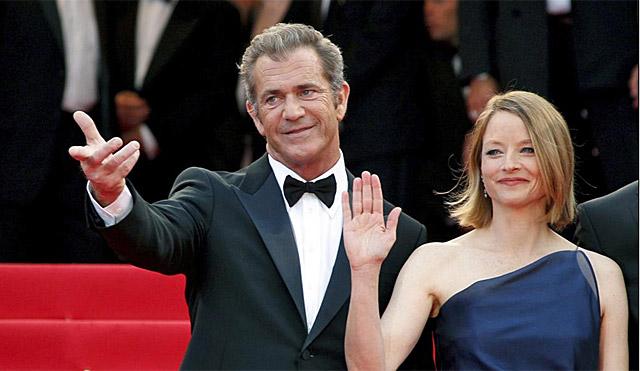 Mel Gibson y Josie Foster en el Festival de Cannes. | EL MUNDO