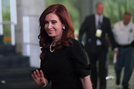 Cristina Fernández en la cumbre del G20. | Efe