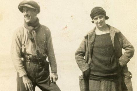 Micaela, durante la Guerra Civil.| Seix Barral