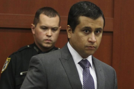 George Zimmerman, ante el Tribunal.| Reuters
