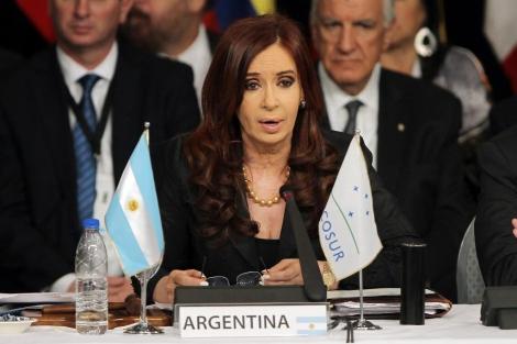 Cristina Kirchner se 'burla' de la crisis española..
