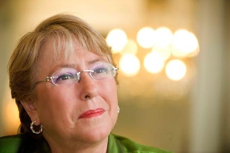 La ex presidenta chilena, en 2010. | Joaquín Gómez Sastre