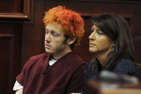 James Holmes acude al juzgado por primera vez.| Reuters