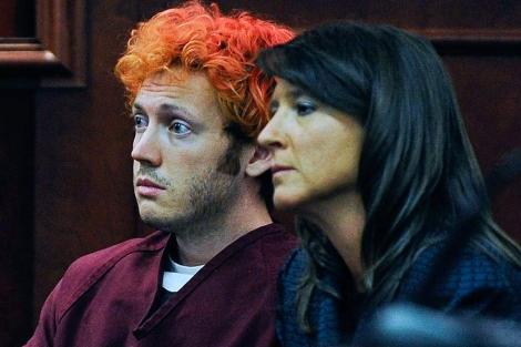 James Holmes, en su comparecencia ante el juez. | Reuters