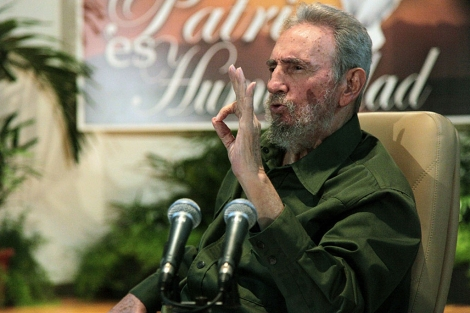 Fidel Castro, durante una reunin con intelectuales en 2010. | Cubadebate
