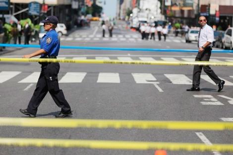 La Quinta Avenida estuvo cerrada en las cercanías del tiroteo. | Reuters