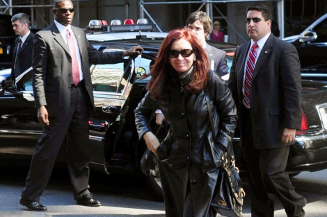 Cristina Kirchner llega hoy a Nueva York.| Afp