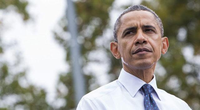 El presidente da un mítin en la universidad George Mason de Fairfax (Virginia).| Efe