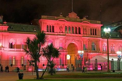 Imagen de la fachada de la Casa Rosada. | Casa Rosada