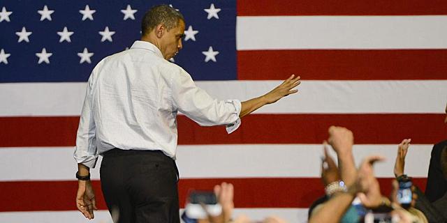 Barack Obama, en un mitin en Milwaukee. | Efe