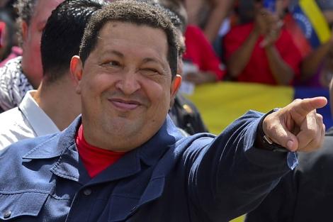 El presidente de Venezuela, Hugo Chávez, en un imagen del pasado octubre. | Afp