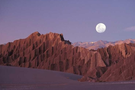 El Valle de la Luna en el desierto de Atacama. | Turismo Chile