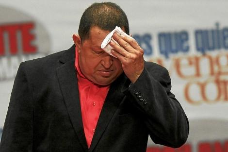 Hugo Chávez, en una imagen de feberero de 2012. | Reuters