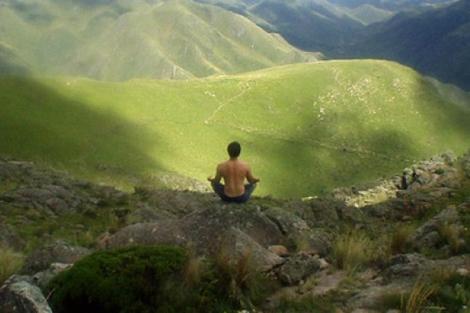 Imagen del cerro Uritorco, en Córdoba, Argentina.
