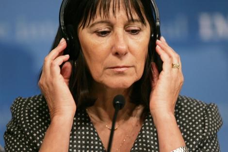 La ex ministra Felisa Miceli, en una imagen de 2007. | Afp