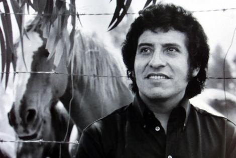 Foto de archivo del cantante chileno asesinado al comienzo de la dictadura de Pinochet.