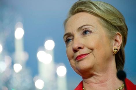 La secretaria de Estado de los EEUU, Hillary Clinton. | Afp