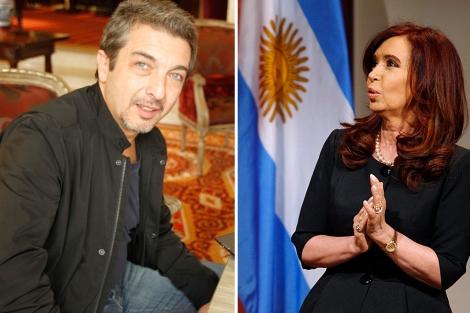 Ricardo Darín y Cristina Fernández de Kirchner. | B. Rivas | Reuters