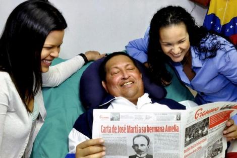 Chávez en el hospital de La Habana. | Efe