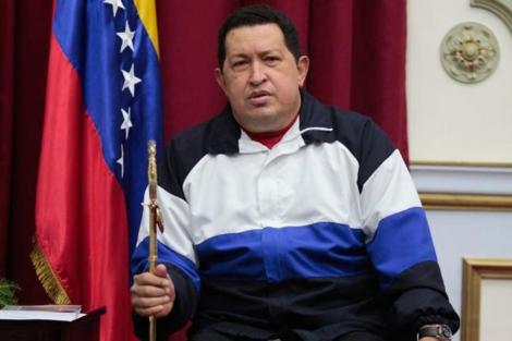 Hugo Chávez, antes de viajar por última vez a La Habana.| Efe