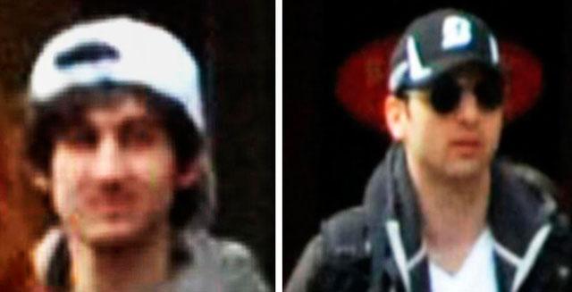 Los hermanos Tsarnaev, presuntos autores del atentado de Boston. | Afp
