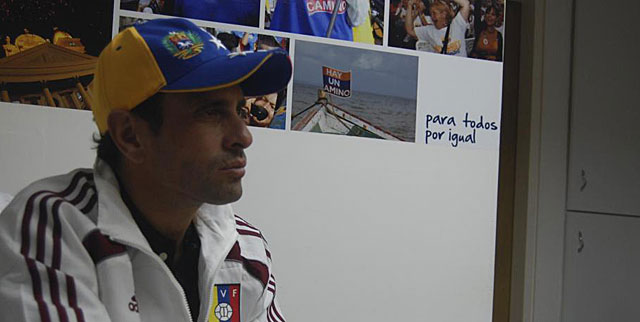 Henrique Capriles. | Luis Medel Romero