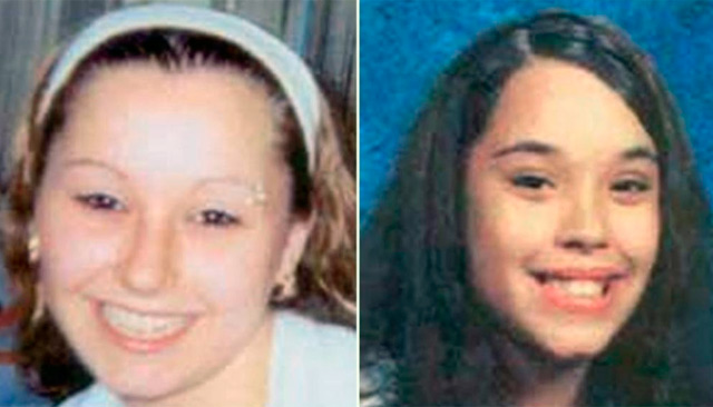 Amanda Marie Berry y Gina DeJesus, dos delas jóvenes halladas hoy. | Reuters