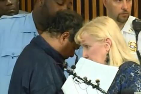 Ariel Castro, ante el juzgado donde se le ha acusado formalmente.