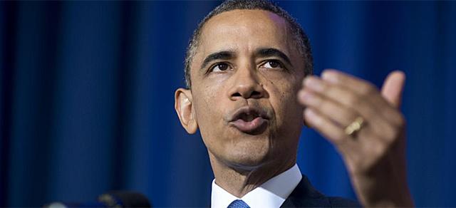Obama durante su discurso. | Afp