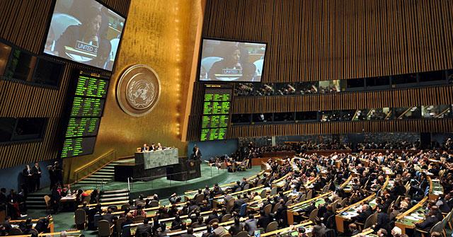 Asamblea general de Naciones Unidas. | Reuters