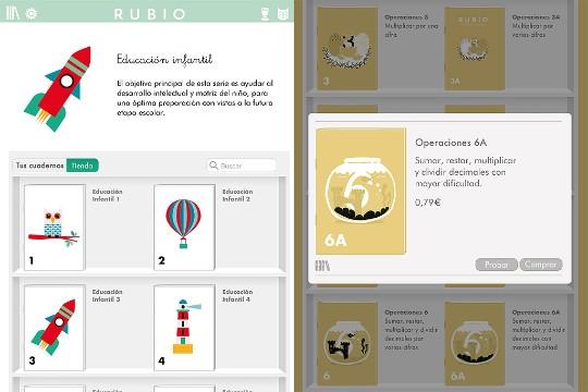 Cuadernillos Rubio en el Ipad | Applícate | Blogs | elmundo.es