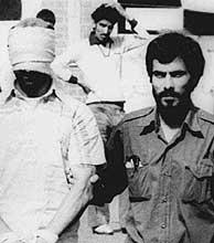 Imagen del secuestro en la embajada de EEUU en Teherán en 1979. (Foto: AP)