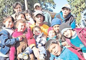 Cleto Ruiz Díaz con parte della famiglia
