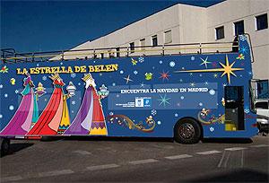 Imagen de uno de los autobuses de la flota que recorrerá Madrid. (Foto: Ayto.)