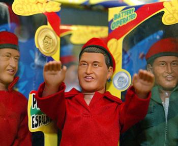 La miniatura del presidente va acompa?ada de su cl?sica gorra roja. (Foto: AFP)