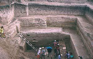 Uno de los yacimientos del río Don. (Foto: Science)