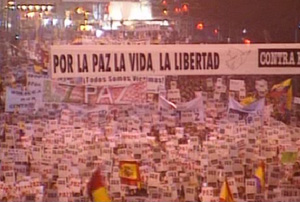 13 enero, manifestaci?n contra ETA